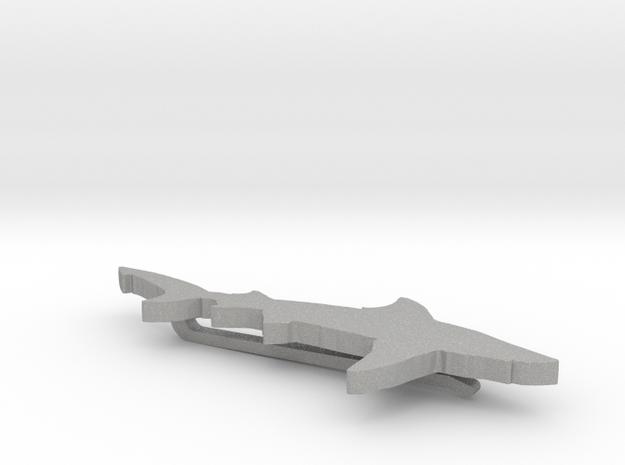 SHARK CLIP BIG in Aluminum