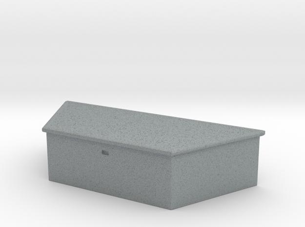 Maisto and Ertl Flatbed Trailer Tongue Box in Polished Metallic Plastic