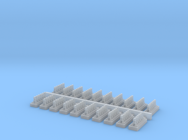 A Frames 5 x 20 - 7mm Scale in Smooth Fine Detail Plastic