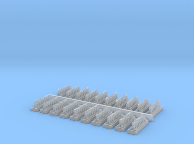 A Frames 7 x 20 - 7mm Scale in Smooth Fine Detail Plastic