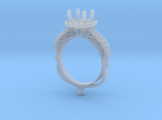 CD274- Fashion Engagement Ring Printed Wax