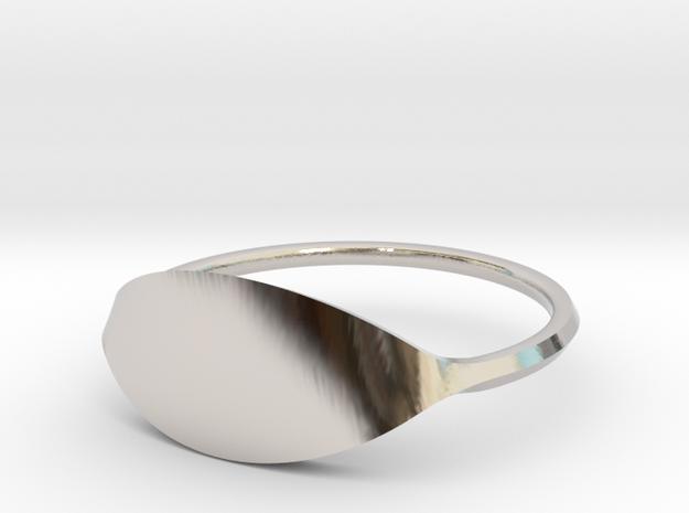 Eye Ring Size 10.5 in Platinum