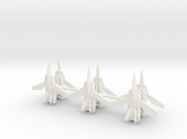 6x VF-1 1/700 in White Strong & Flexible Polished