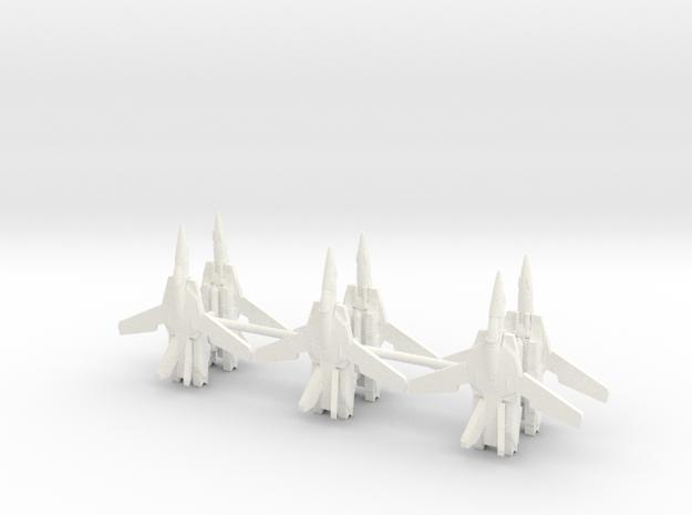 6x VF-1 1/700 in White Processed Versatile Plastic