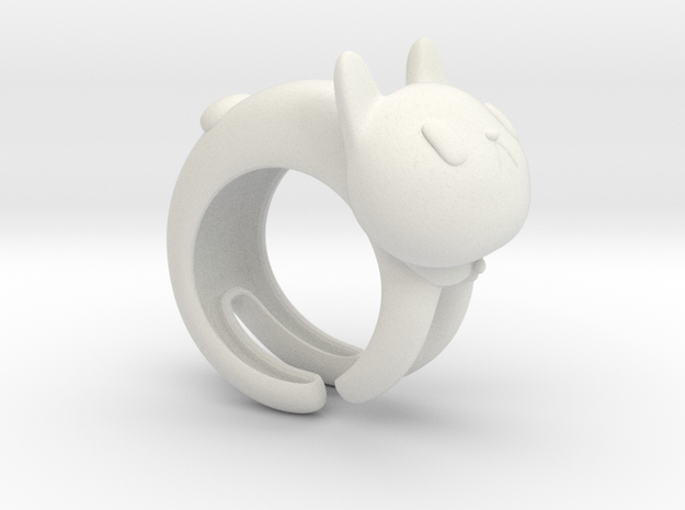 CatRing size 8 3d printed