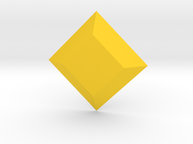 Steven Universe - Gem - Yellow Diamond in Yellow Processed Versatile Plastic
