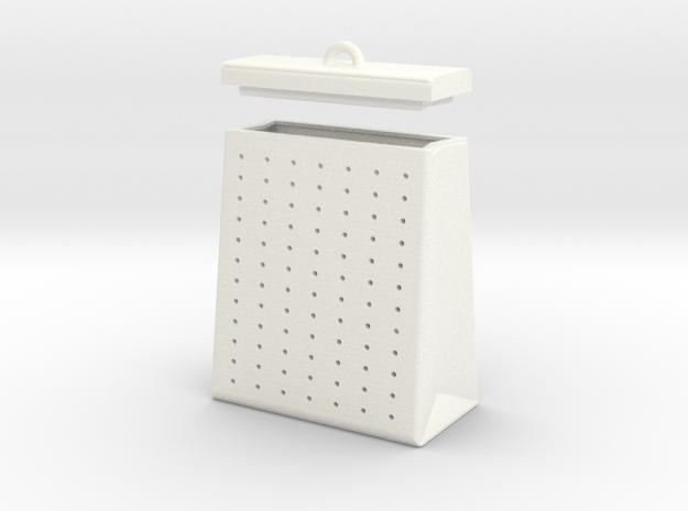 TEA BAG SEEPER in White Processed Versatile Plastic