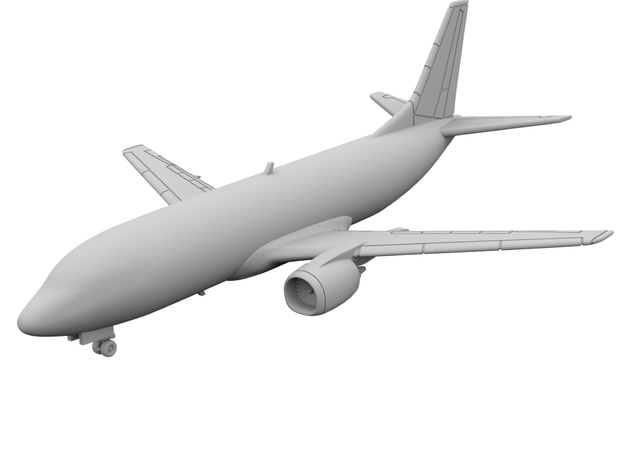 1:400 - 737-300 in Smooth Fine Detail Plastic