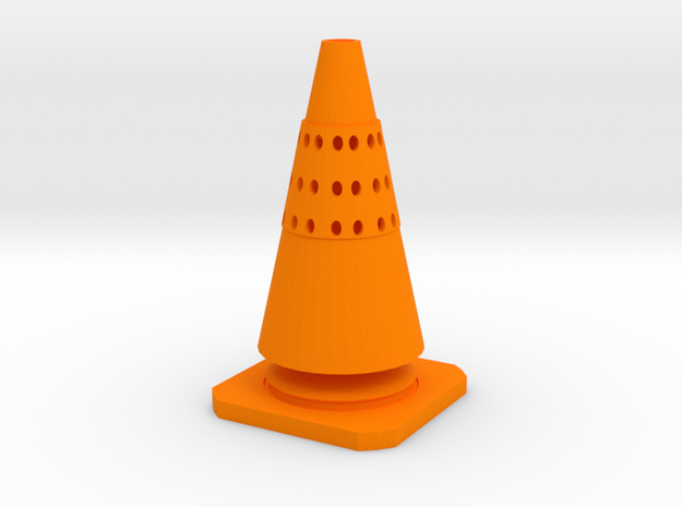 CONE TEA in Orange Strong & Flexible Polished