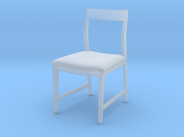 1:48 Danish Modern Chair in Smooth Fine Detail Plastic
