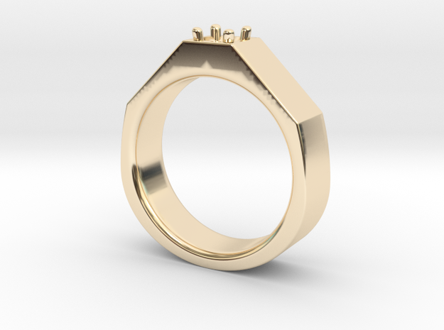 5mm Size 10.5 in 14K Yellow Gold