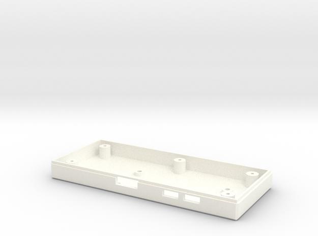 Pi Zero Nes Controller V1.1 in White Processed Versatile Plastic