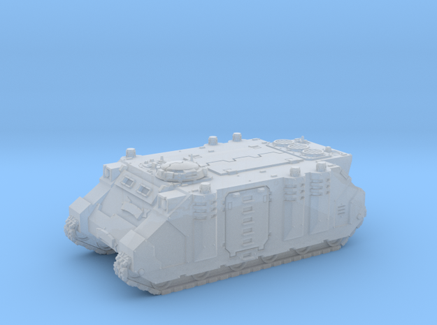 Epic Scale Rhino Extended Length Tank in Frosted Ultra Detail