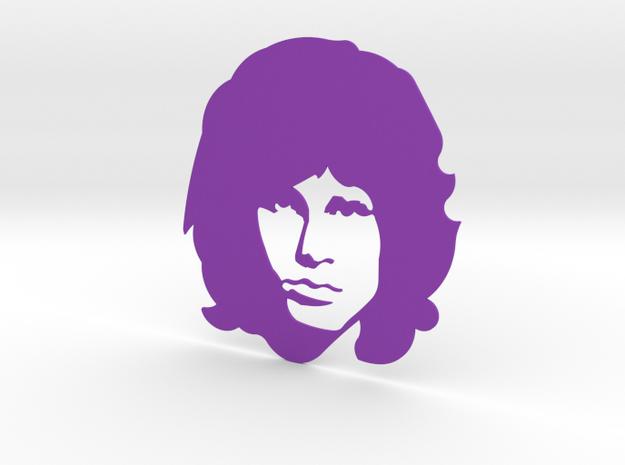 Jim Morrison in Purple Strong & Flexible Polished