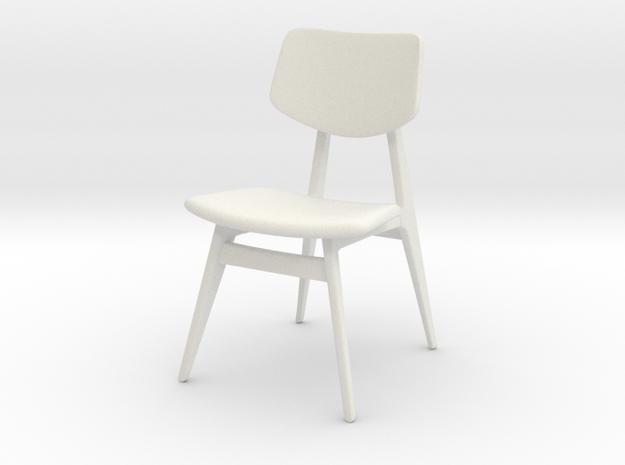 1:24 C 275 Chair in White Natural Versatile Plastic