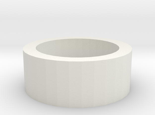 Blaster Led PCB Support Ring in White Natural Versatile Plastic