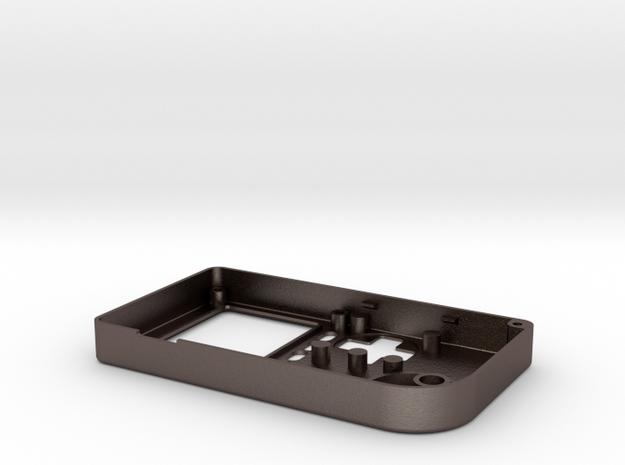 PiGGRL Pocket 4 button ver.-top in Stainless Steel