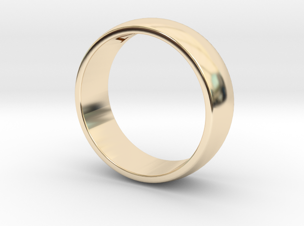 Wedding Band Edited in 14K Yellow Gold