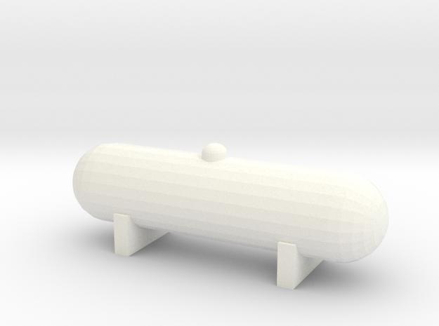 Propane Tank (1:160) in White Processed Versatile Plastic