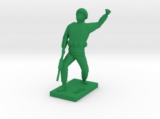 Soldier Philip in Green Processed Versatile Plastic