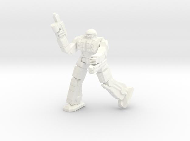 Celt Pose 3 in White Processed Versatile Plastic
