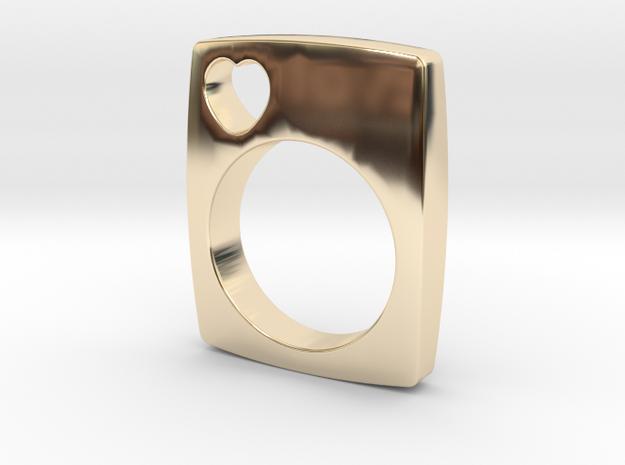 The Love Ring in 14K Gold