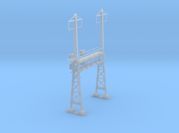 CATENARY PRR LATTICE SIG 2 TRACK 2 PHASE N SCALE  in Frosted Ultra Detail