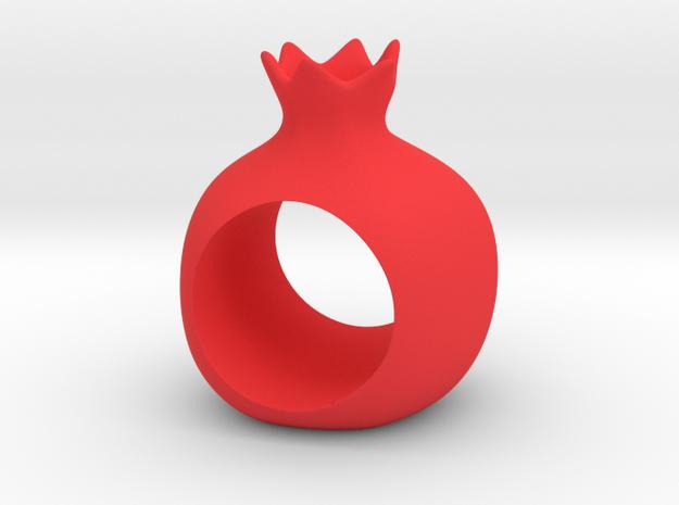 ROSHANNA napkin ring in Red Processed Versatile Plastic