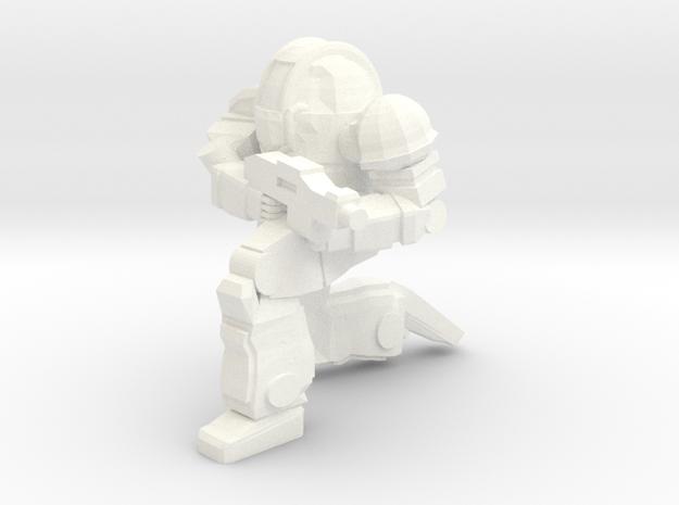 Ogre MKII Pose 3 (Free Download) in White Processed Versatile Plastic