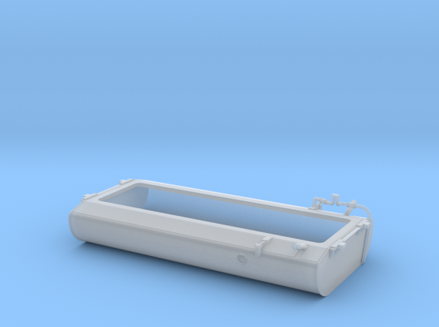 FT0001 SD40-2W Fuel Tank, As Built 1/87.1 in Smoothest Fine Detail Plastic