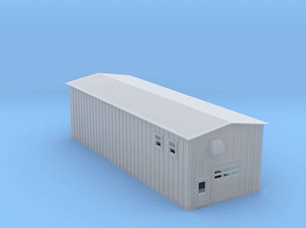 Ethanol Processing Center Facility Building 2 Z Sc in Smooth Fine Detail Plastic
