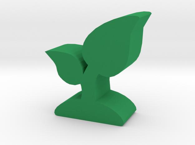 Game Piece, Plant Crop in Green Processed Versatile Plastic