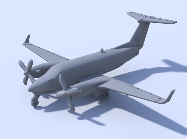 1:500_Beechcraft KingAir 350 [x2][A] in Smooth Fine Detail Plastic