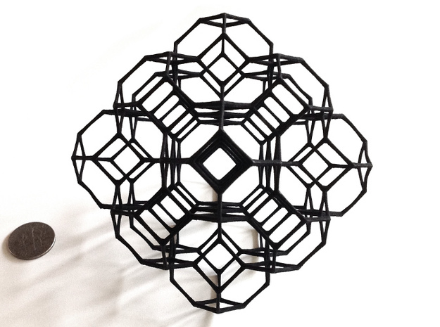 Truncated octahedral lattice
