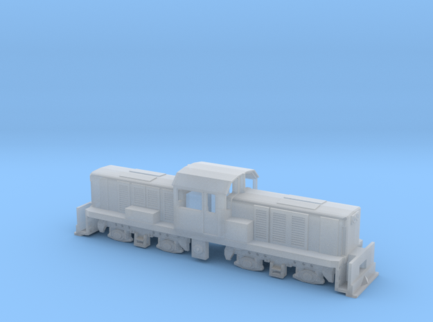 KIWIRAIL DSC NZ120  3d printed