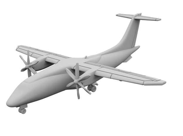 1:500_Dornier 328 [x2][A] in Smooth Fine Detail Plastic