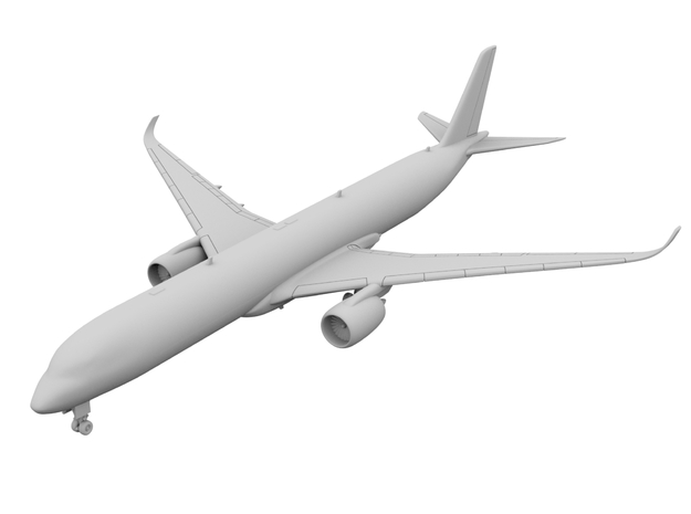 1:400_A350-1000 [x1][S] in Smooth Fine Detail Plastic