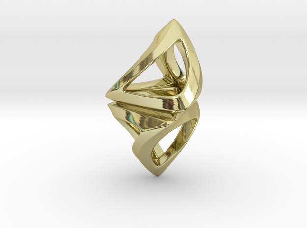 Trianon Twist, Pendant in 18k Gold Plated