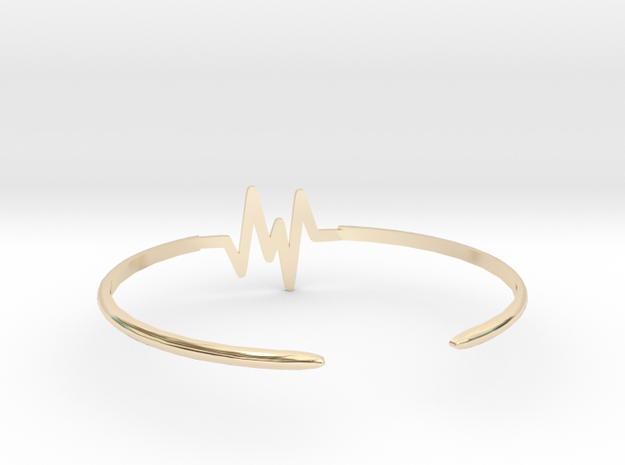 Keep Moving Bangle in 14K Gold