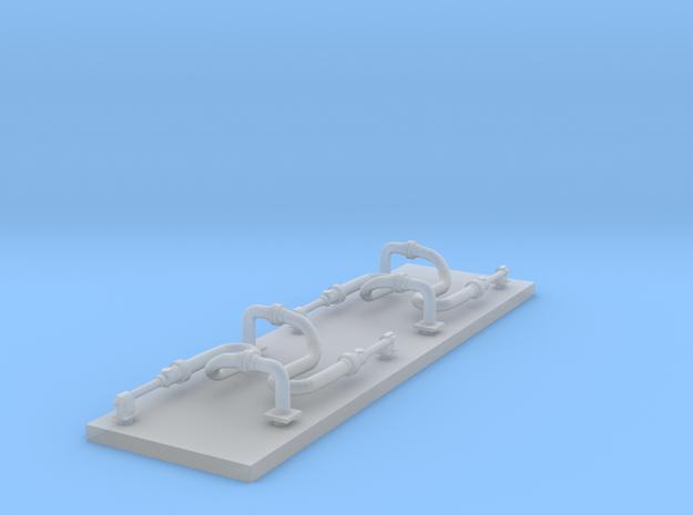 Schnellangriffseinrichtung Wald - 4 Stück 1/87 in Smoothest Fine Detail Plastic