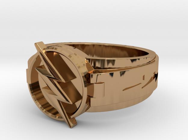 V3 Reverse Flash Size 11 20.68mm in Polished Brass