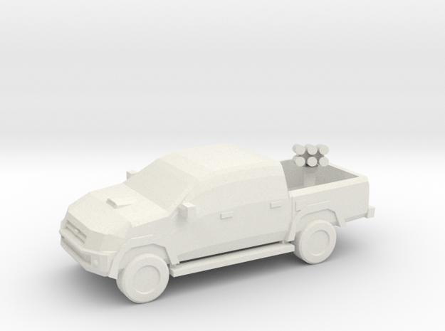 10mm (1/144) 2007 Toyota Hilux (Grad Launcher)