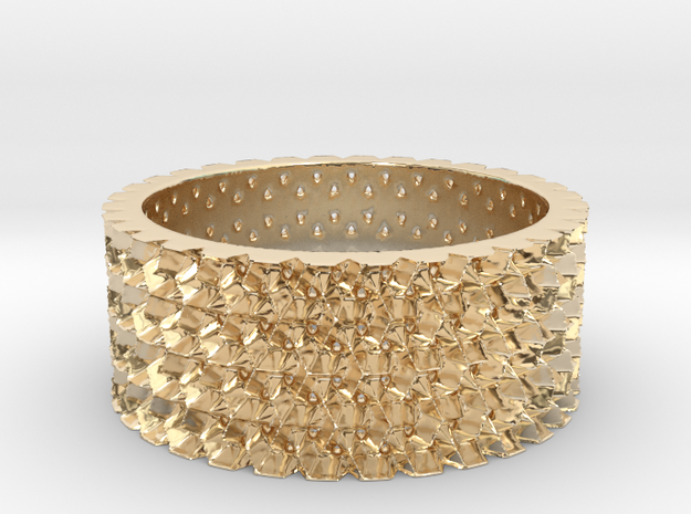 Them's Fightin' Rings - Size 10 in 14K Yellow Gold