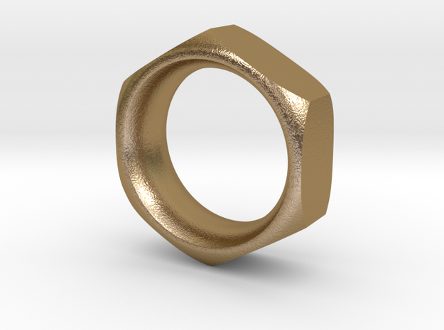 The Reverse Engineer (18mm) in Polished Gold Steel
