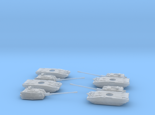 Armata Koalitsiya 2S35 Platoon 6mm 1:285