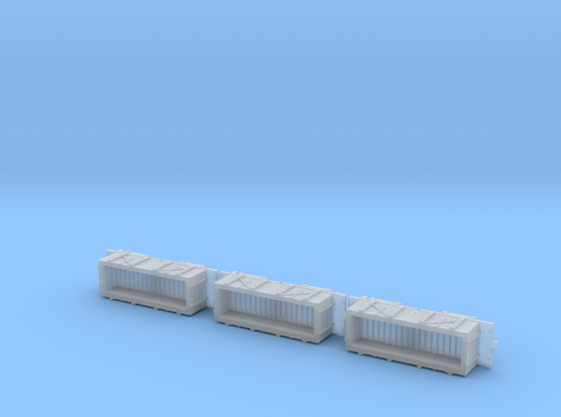 A-1-160-wdlr-c-wagon-full-plus1-x3 in Smooth Fine Detail Plastic