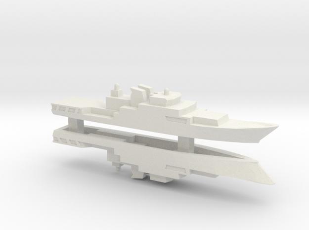 Haijing/CCG-1305 Patrol Ship x 2, 1/2400 in White Strong & Flexible