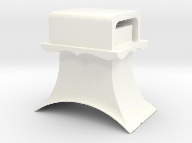 Headlight3.5 Top in White Processed Versatile Plastic
