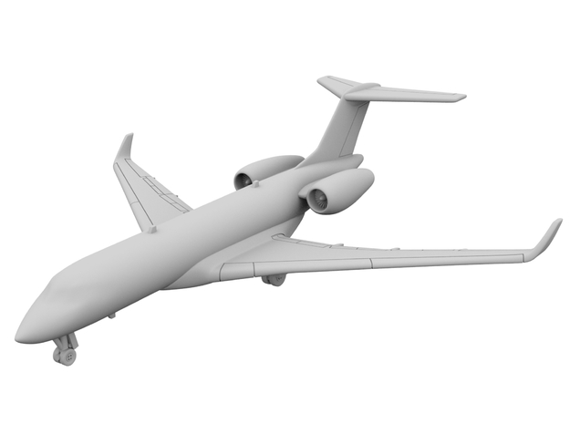 1:400_Global 6000 [x2][A] in Smooth Fine Detail Plastic