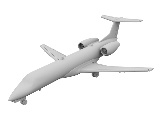 1:500_ERJ 135 [x2][A] in Smooth Fine Detail Plastic